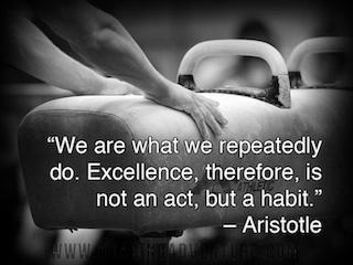 Aristotle quote on habits