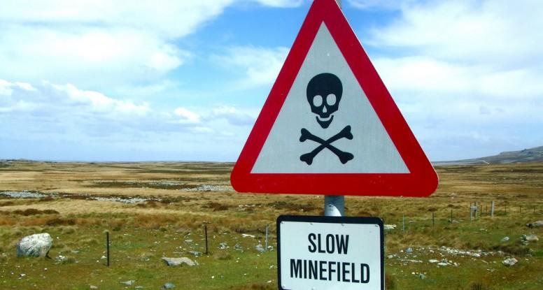 Minefield mistake