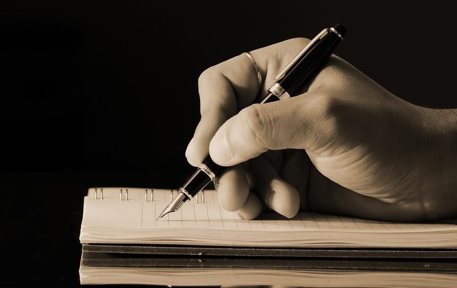 writing down goal